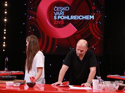 Česko vaří s Pohlreichem ŽIVĚ